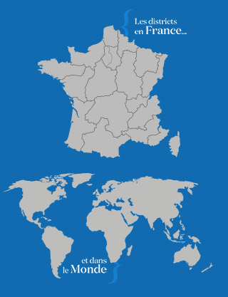 Districts Francophones