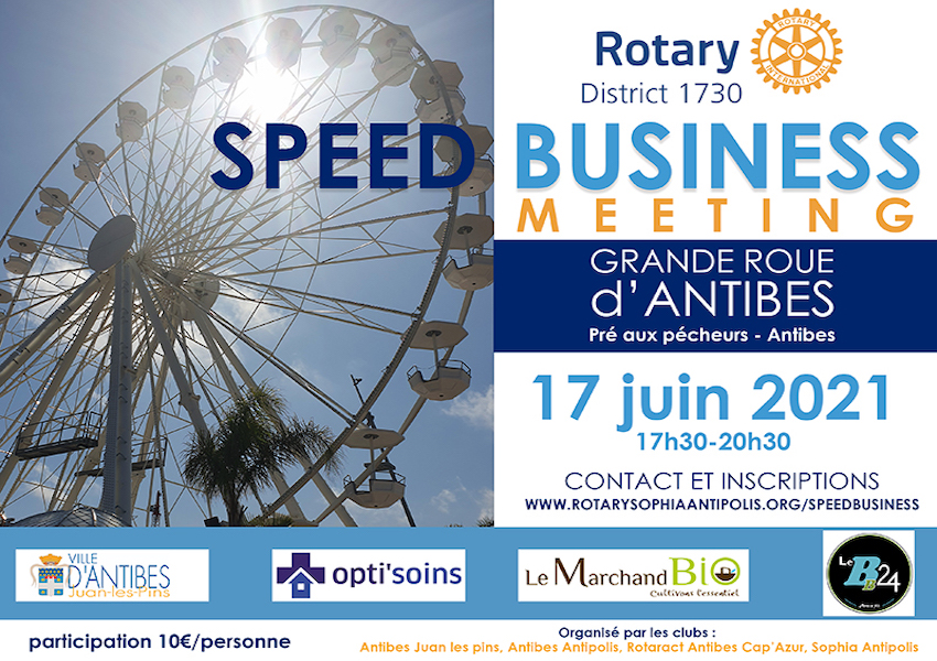 Image Speed business meeting à Antibes