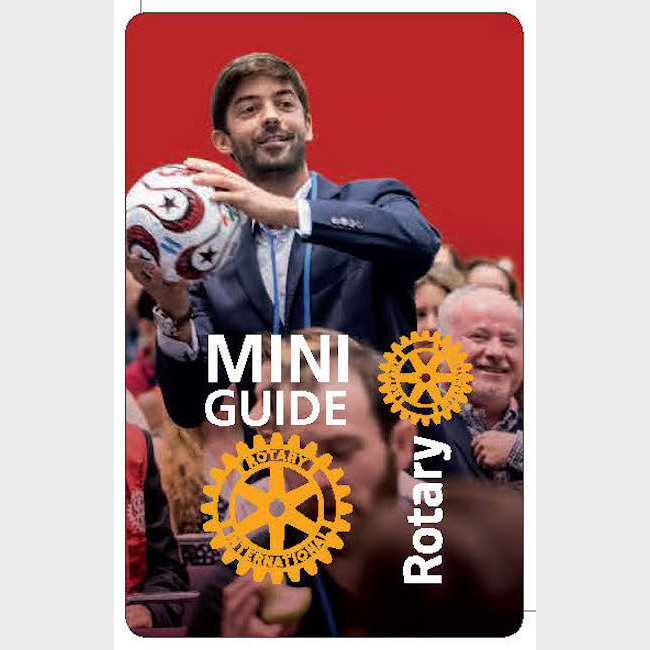 Mini Guide Rotary 2019 - 50 ex (en 2 lots de 25 ex)