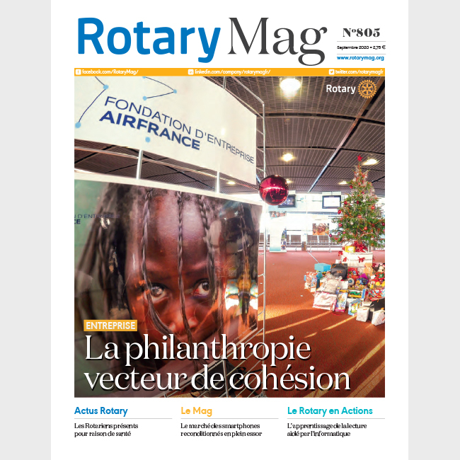 ROTARY MAG - SEPTEMBRE 2020 - N°805