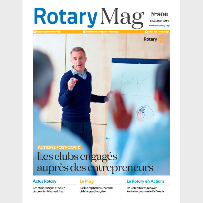ROTARY MAG - OCTOBRE 2020 - N°806 - TELECHARGEMENT