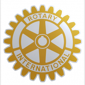 Roue rigide Rotary International - sous 20 jours
