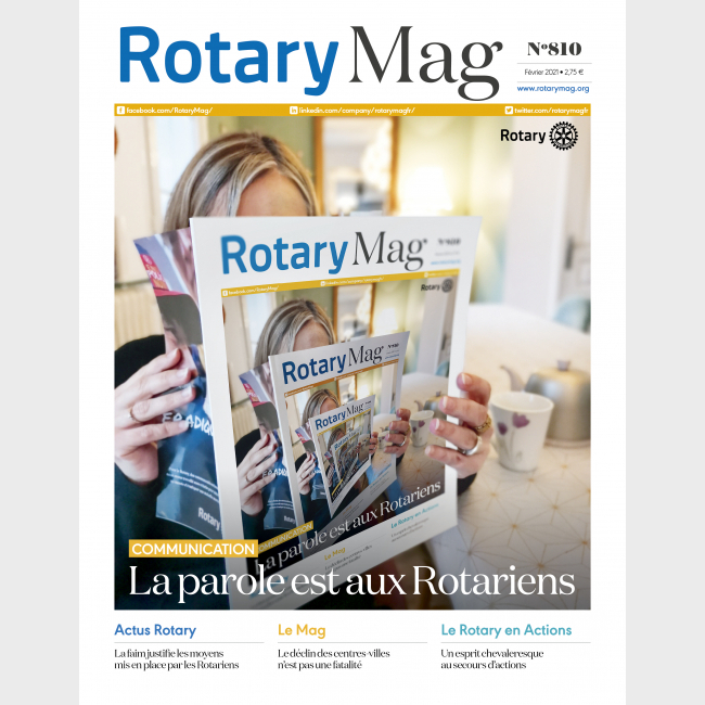ROTARY MAG - FEVRIER 2021 - N°810 - TELECHARGEMENT