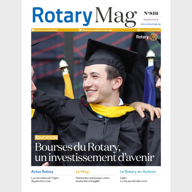 ROTARY MAG - AOUT 2021 - N°816 - TELECHARGEMENT