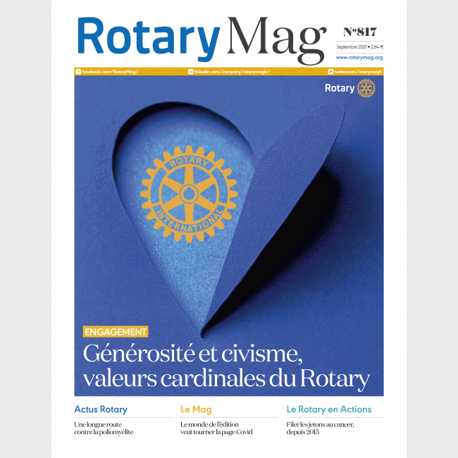 ROTARY MAG - SEPTEMBRE 2021 - N°817 - TELECHARGEMENT