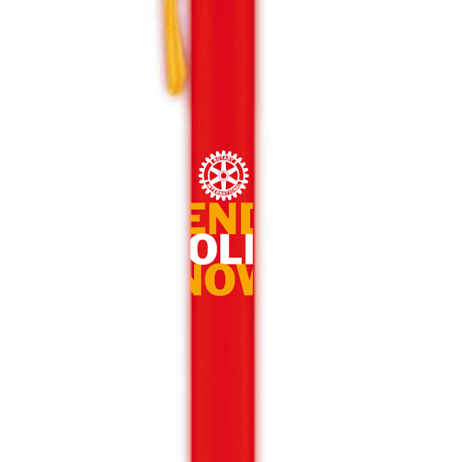 Pack 100 Stylos End Polio Now